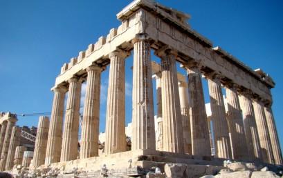 Началась учебная и духовно-назидательная поездка студентов, преподавателей и друзей СПбХУ в Грецию
